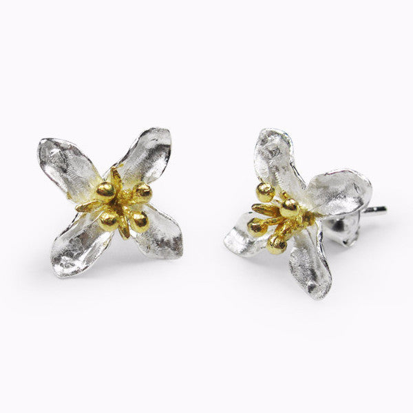 Flower Earrings (#S)