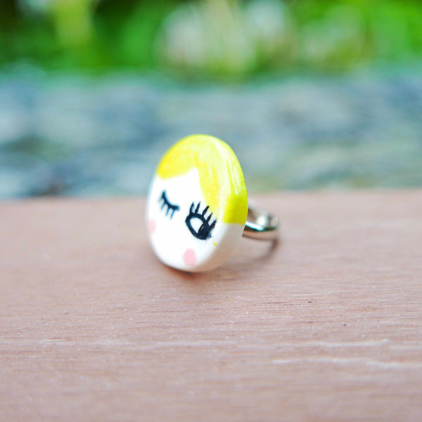 Twiggy Ceramic Ring