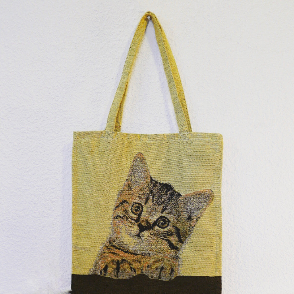 Pattern Tote Bag (Cat)