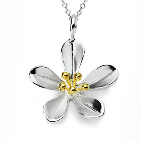 Flower  Necklace (#S)