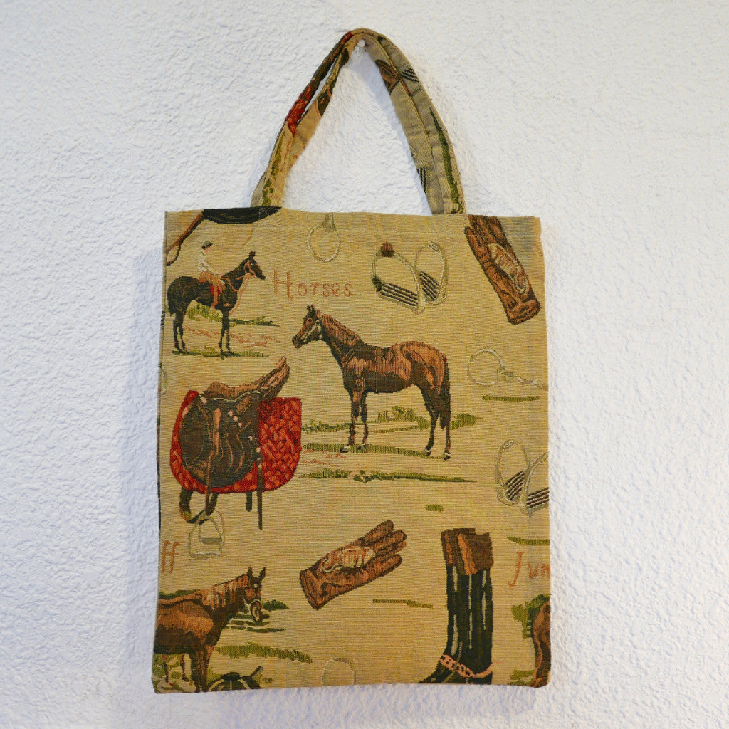 Pattern Tote Bag (Horse)