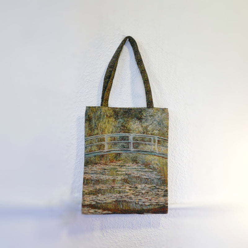 Pattern Tote Bag (river green)