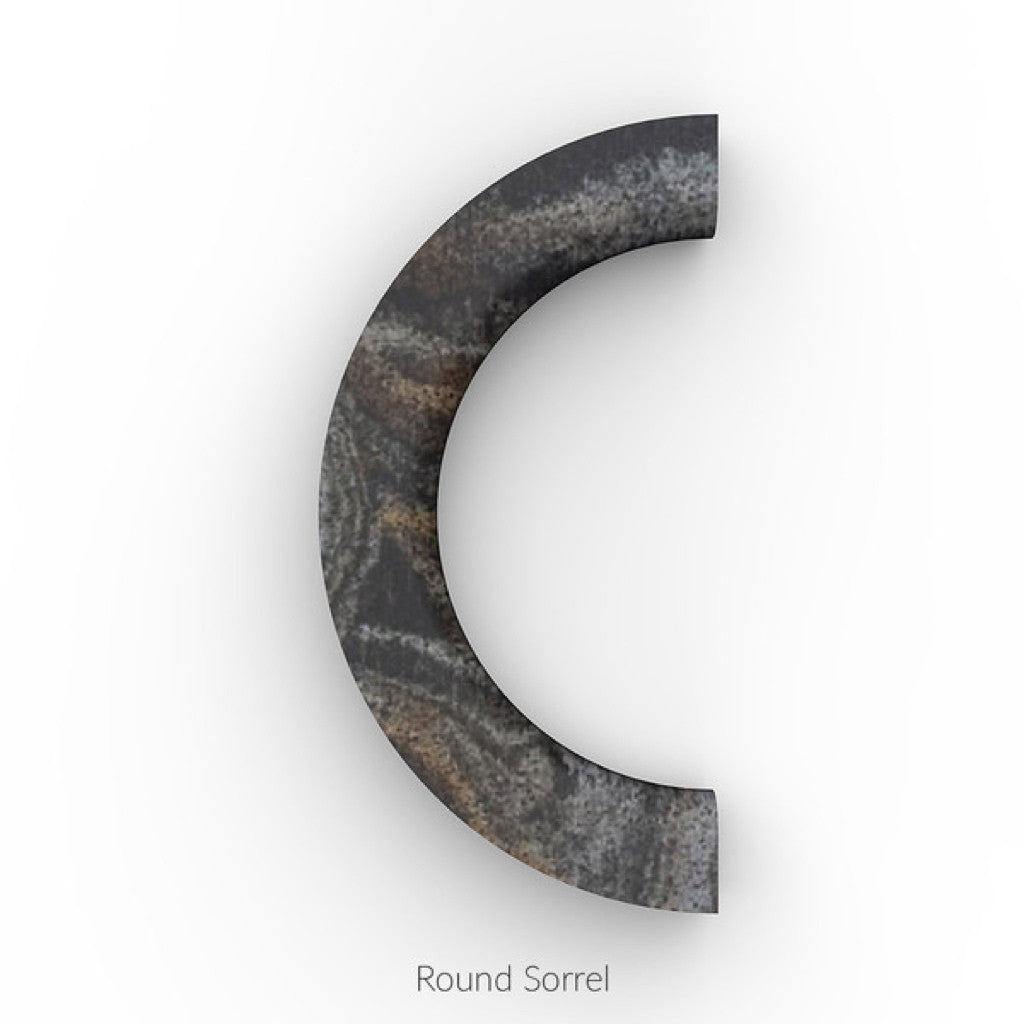 North / South Bracelet (Staff Pick) - Sorrel [Round] / Platinum [Round]