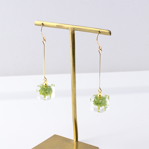 The Great Nature Earrings - Broccoli (drop | hook)