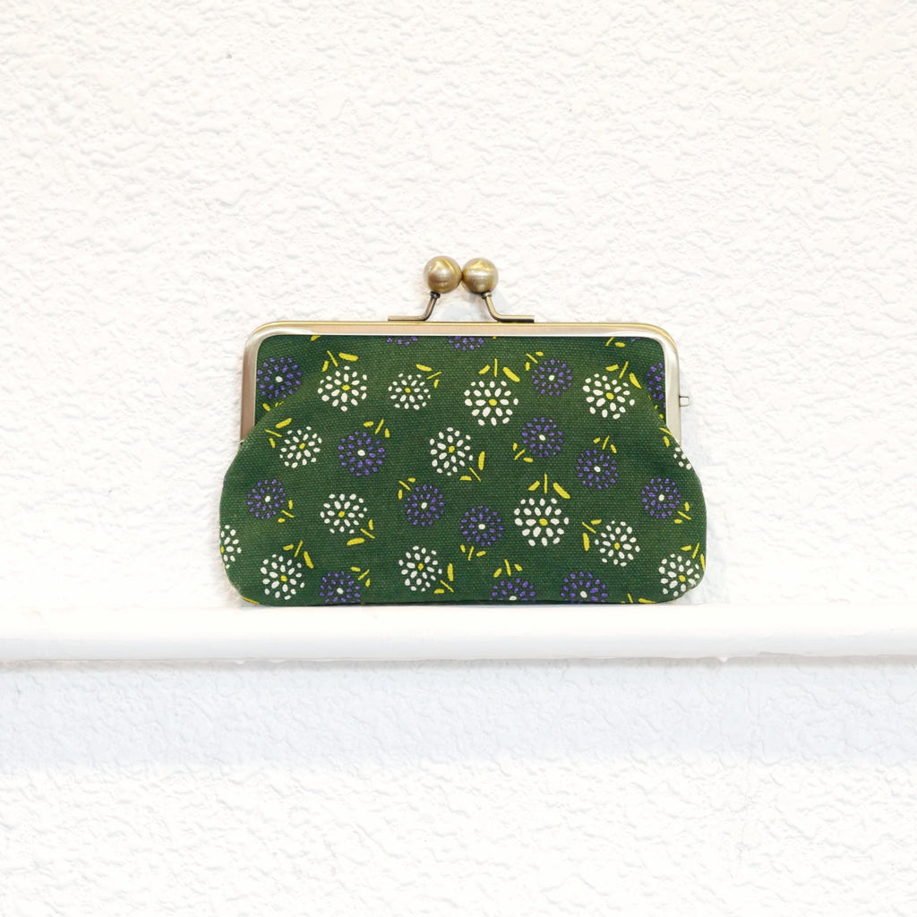 Dandelion Flower Purse (Green)