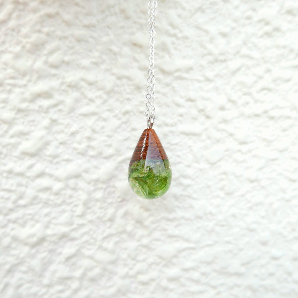 Little Wood Necklace (Under The Sea)