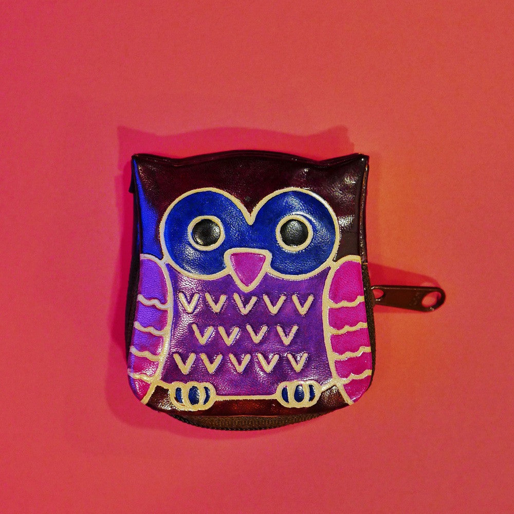 Little Owl Coin Bag