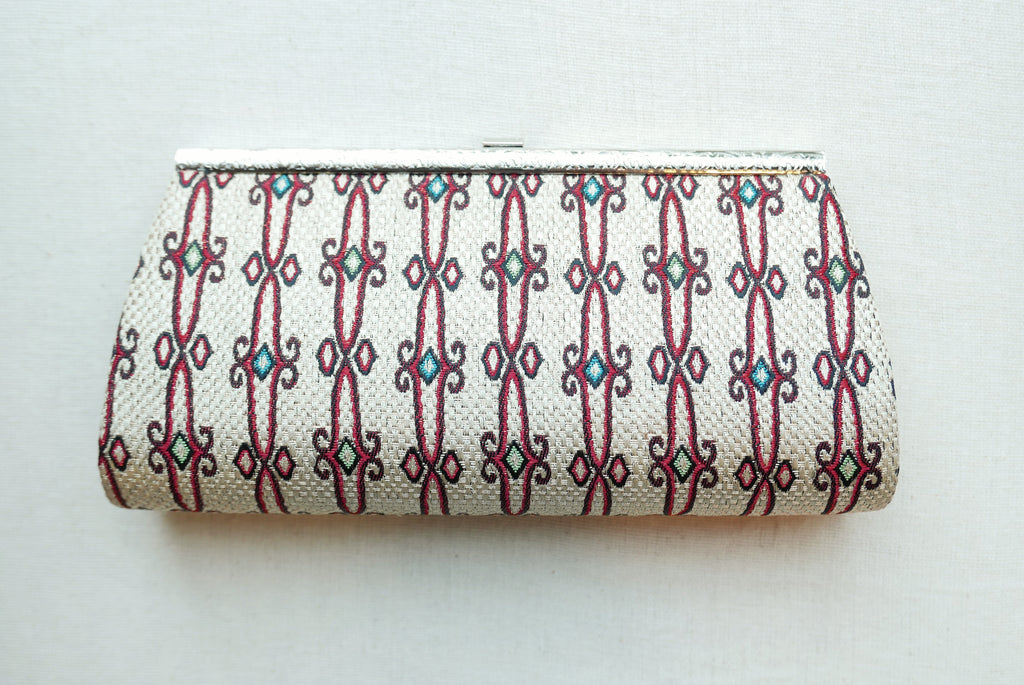 Stripes Pattern Clutch