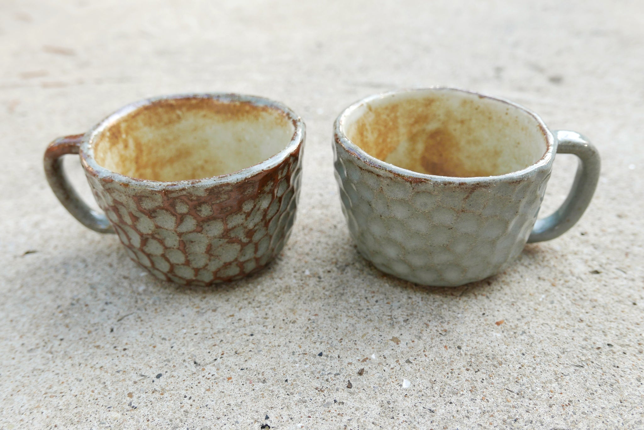 Ceramic Mugs (Grey)