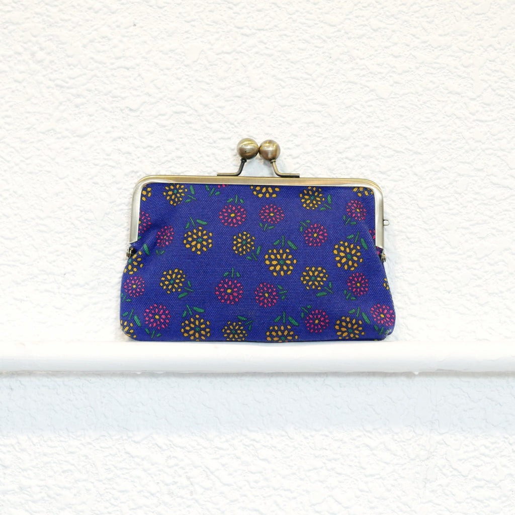 Dandelion Flower Purse (Blue)