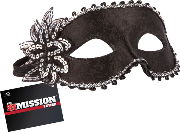 Masquerade Masks (Black)
