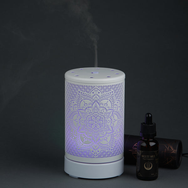 Mandala Ultrasonic Diffuser - White