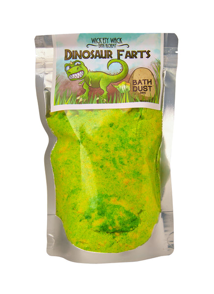 Dinosaur Farts Bath Dust