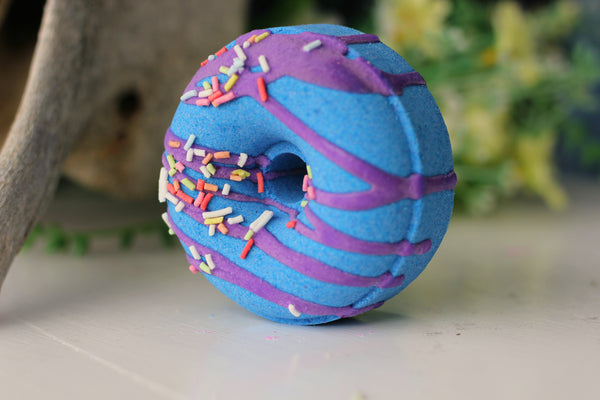 Blueberry Donut Bath Bomb