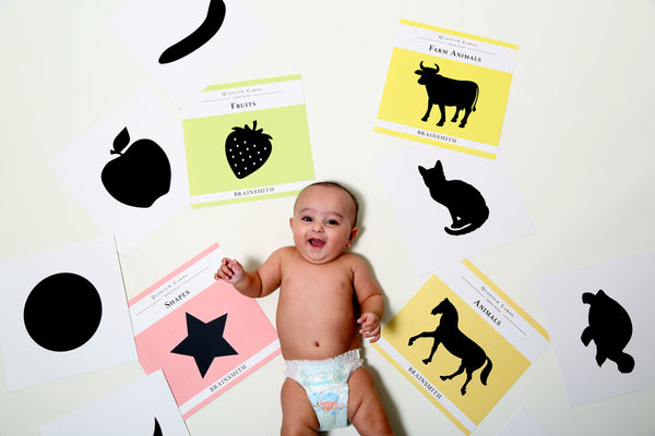 Ways to use Black and White Infant Cards