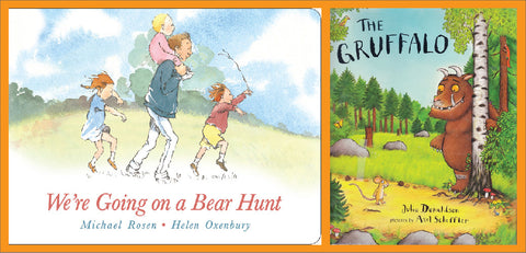 The gruffalo we're going on a bear hunt