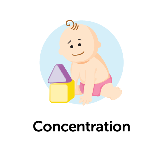 Child Development Skill - Concentration
