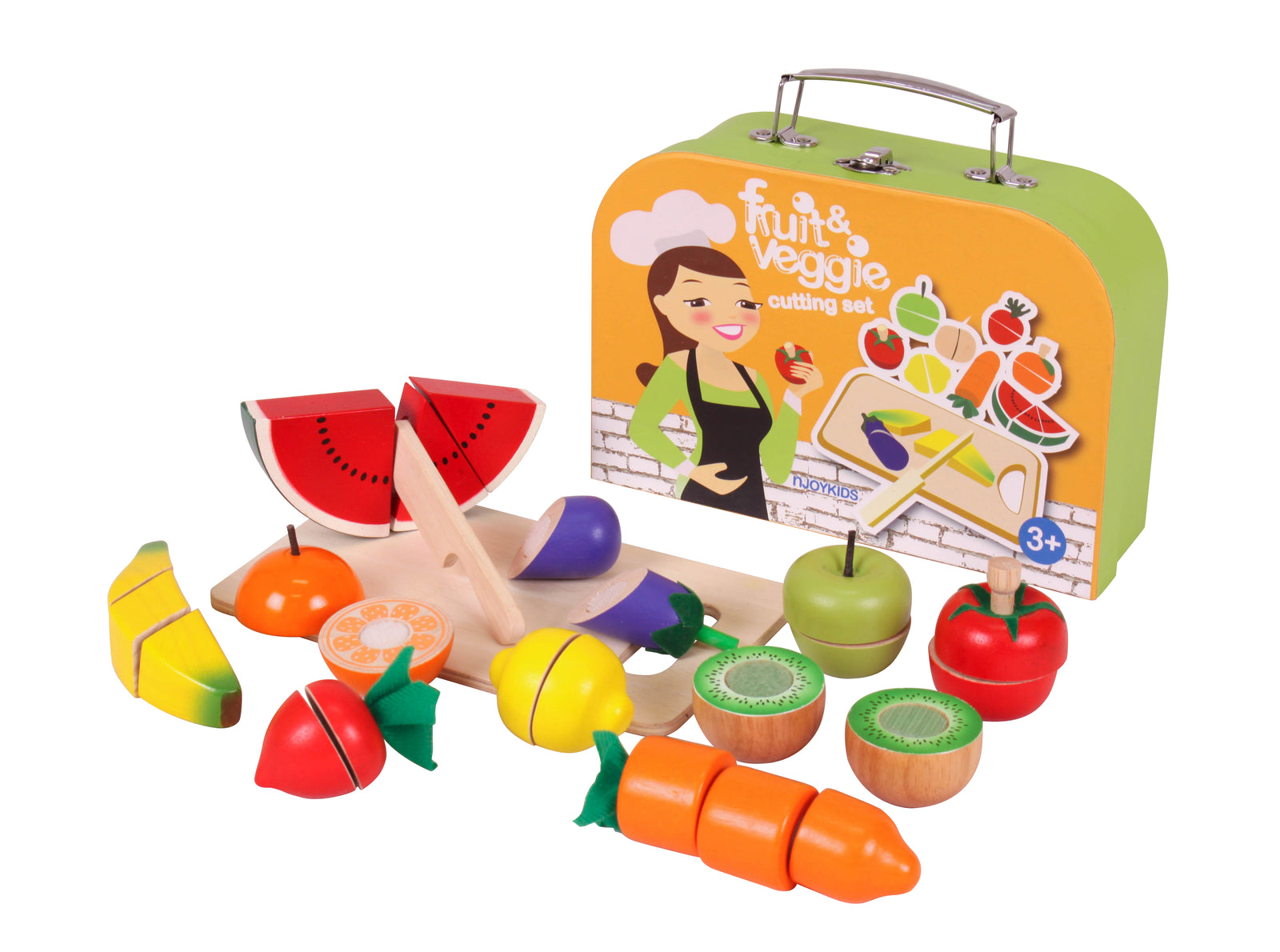 Fruits and Veggies Cutting Set