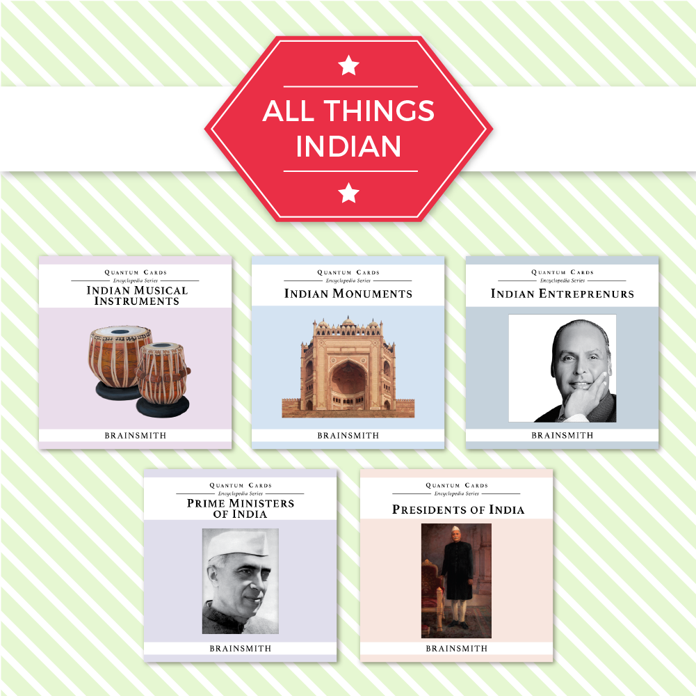 Indian Topics Flashcards for Kids