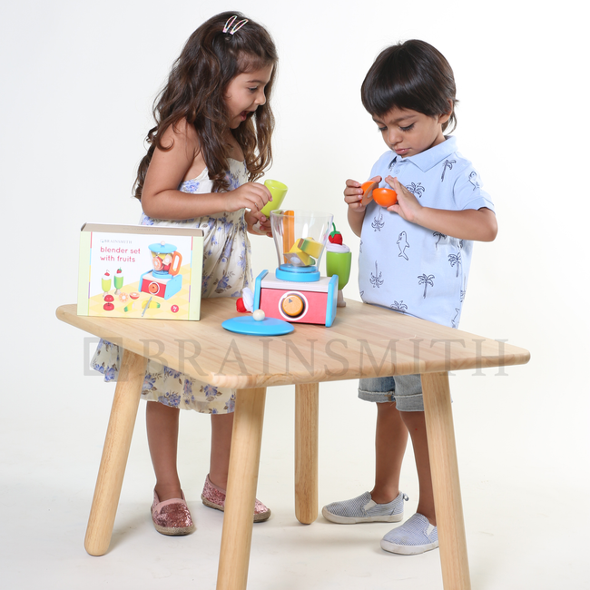 Brainsmith Wooden Toys, Pretend Play Toys, Smoothie Set