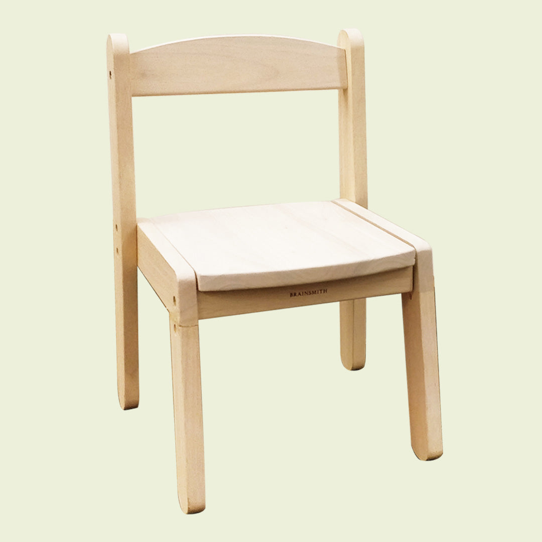 Wooden Stacking Chair - Natural Wood