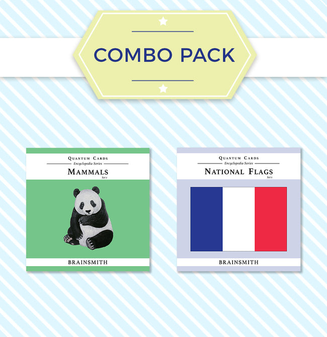 Combo Pack: National Flags and Mammals