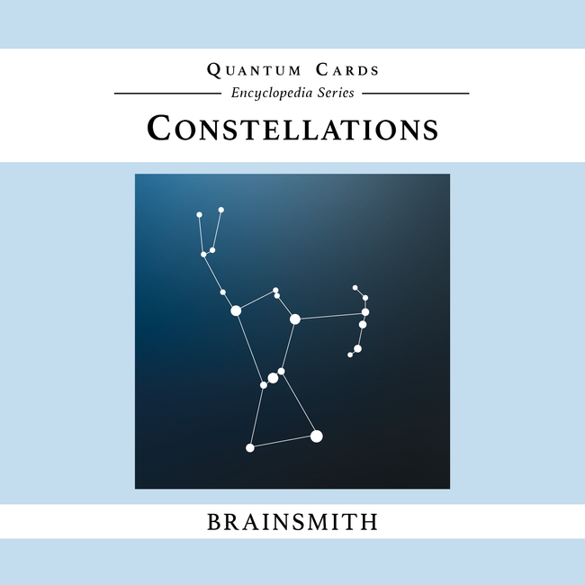 Constellations Flashcards for kids