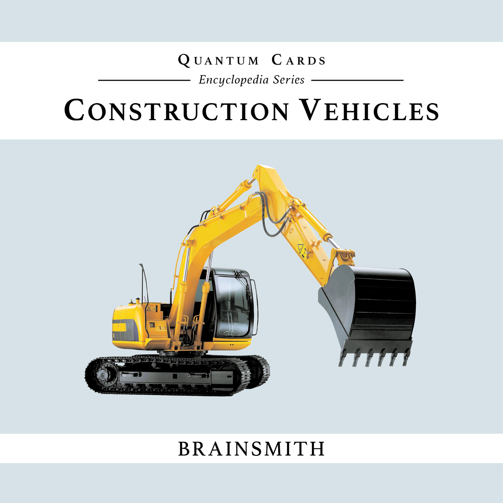 Construction Vehicles Flashcards for kids