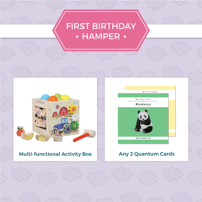 First birthday gift hamper
