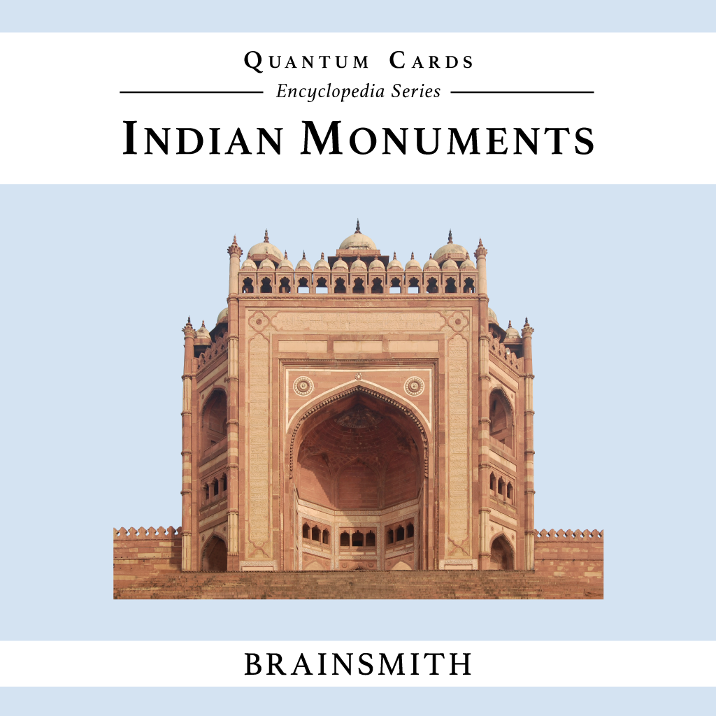 Indian Monuments Flashcards for Kids