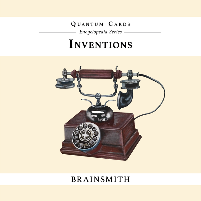 Inventions Flashcards for Kids
