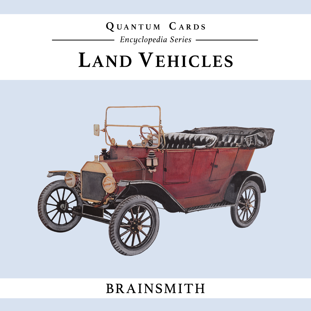 Land Vehicles, Vehicles Flashcards for Kids