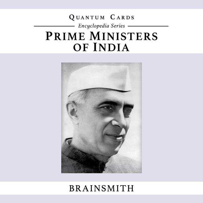 Prime Ministers of India, Prime Ministers of India Flashcards for kids