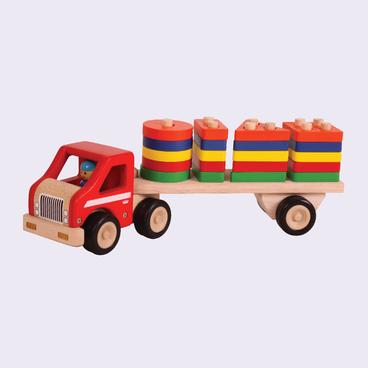 Super Shape Sorting Lorry Combo