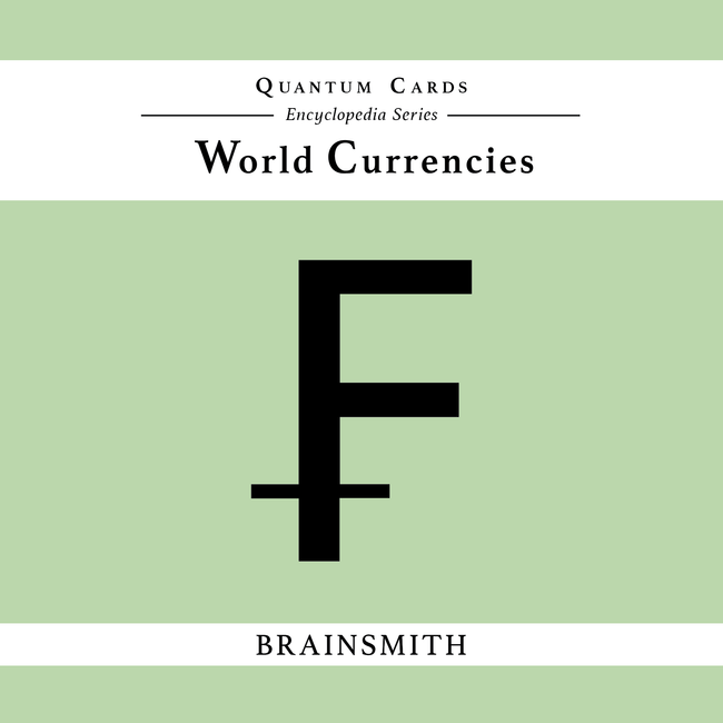 World currencies flashcards for kids