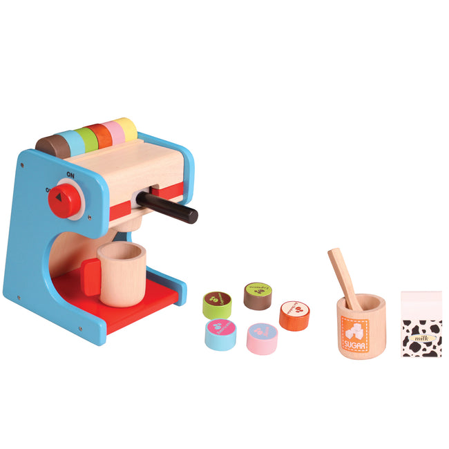 Kids coffee maker set