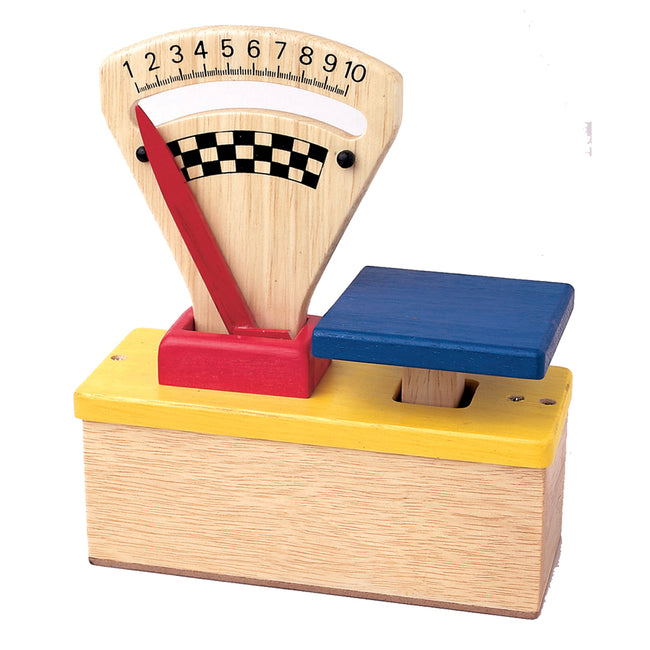 Wooden Food Scale - Wooden Toys for Kids
