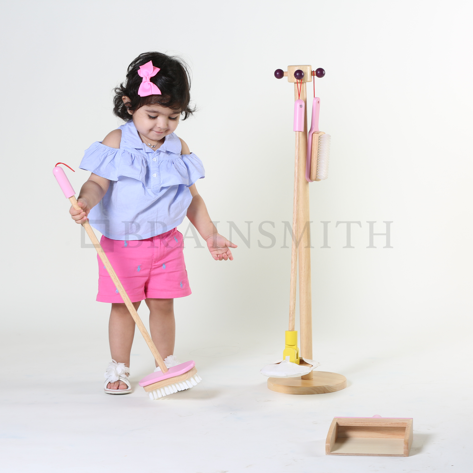 Spic and Span Set - Pastel Pink