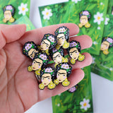 Frida Enamel Pin
