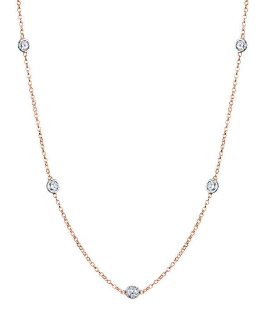 Collier 7 diamants 1.05 carats