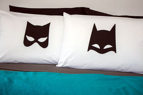 Batman & Cat Woman - Pillowcase Set