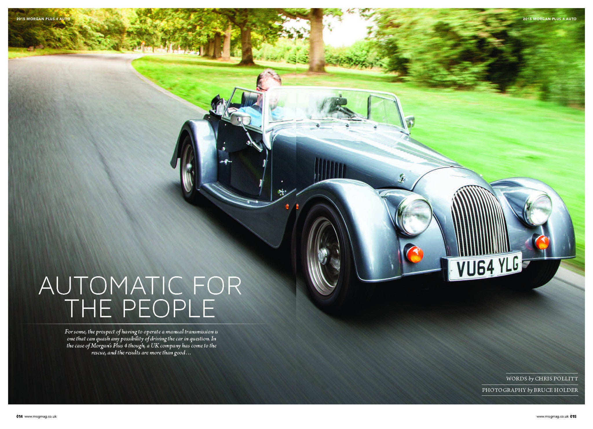 Automatic For The People Morgan Plus 4 Automatic Vitesse Global Ltd