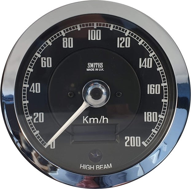 VP00255-1 - SMITHS ELECTRONIC SPEEDOMETER (100MM) 200KPH