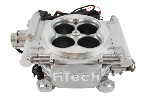 Go EFI 4 - 600 HP EFI System - Bright Aluminum Finish