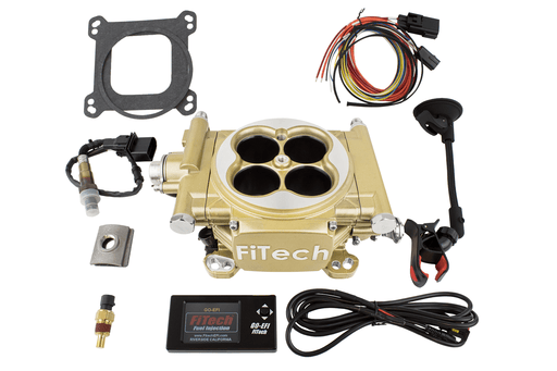 30005 - Easy Street EFI 600HP Classic Gold EFI - FiTech
