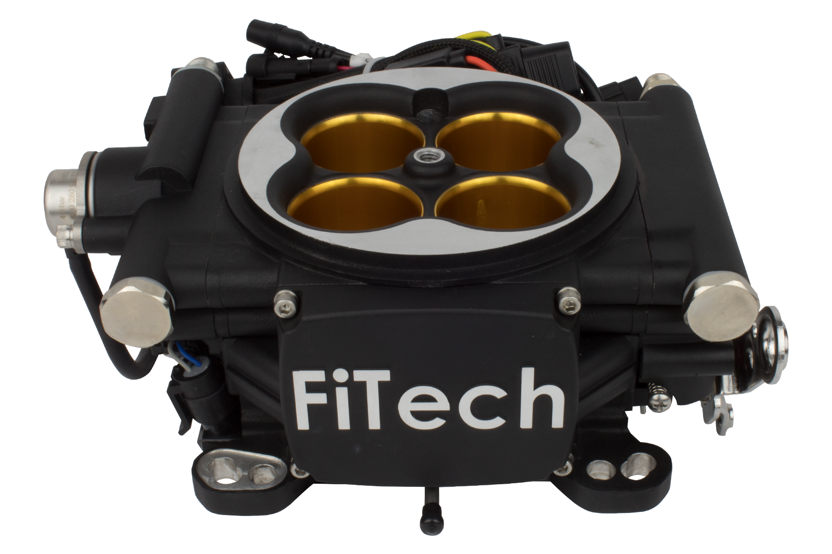 30012 - Go EFI 8 - 1200 HP EFI System - Power Adder - Matte Black Finish - FiTech