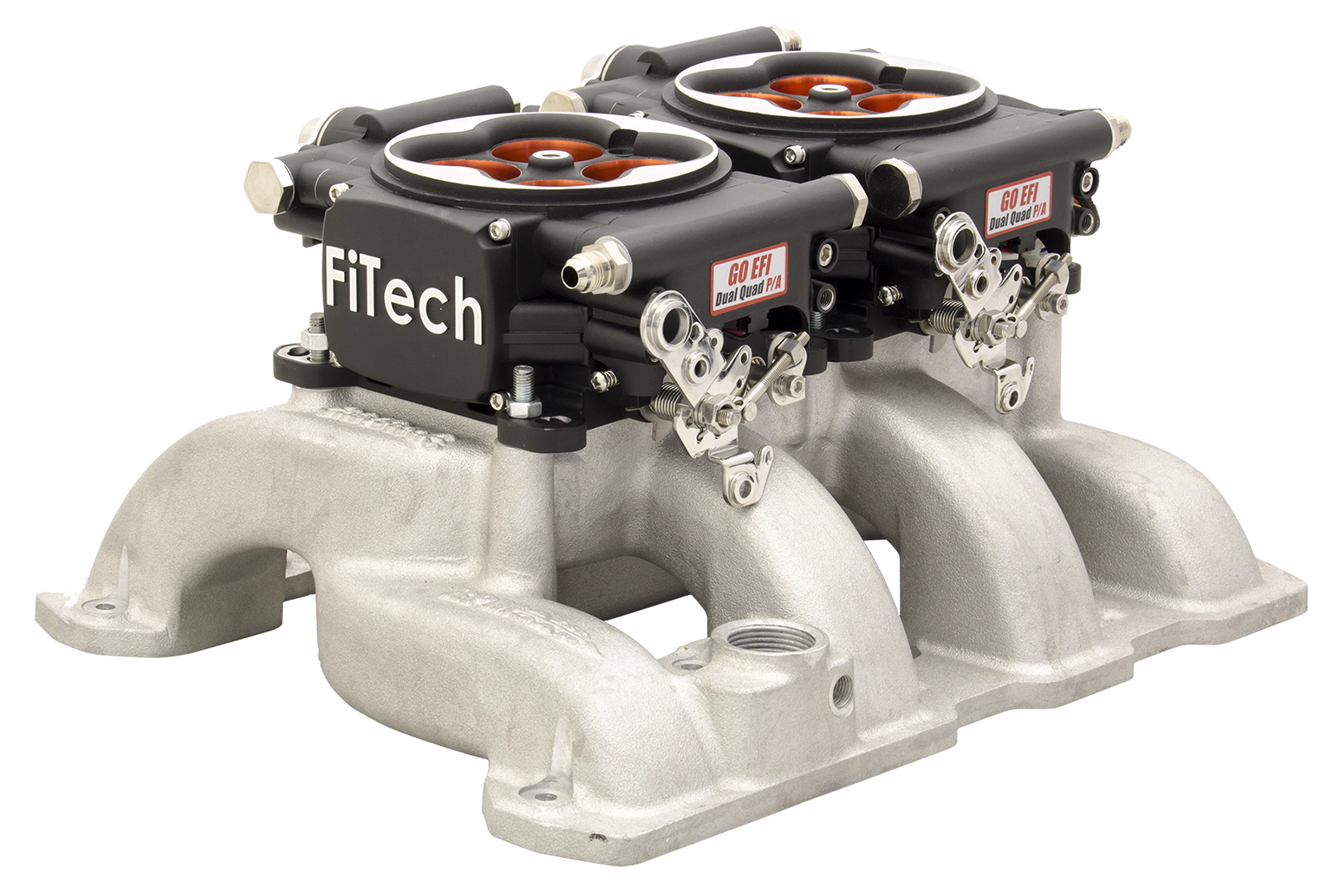 FiTech Go EFI 2x4 1200 HP EFI System - Power Adder - Matte Black Finish - 30064