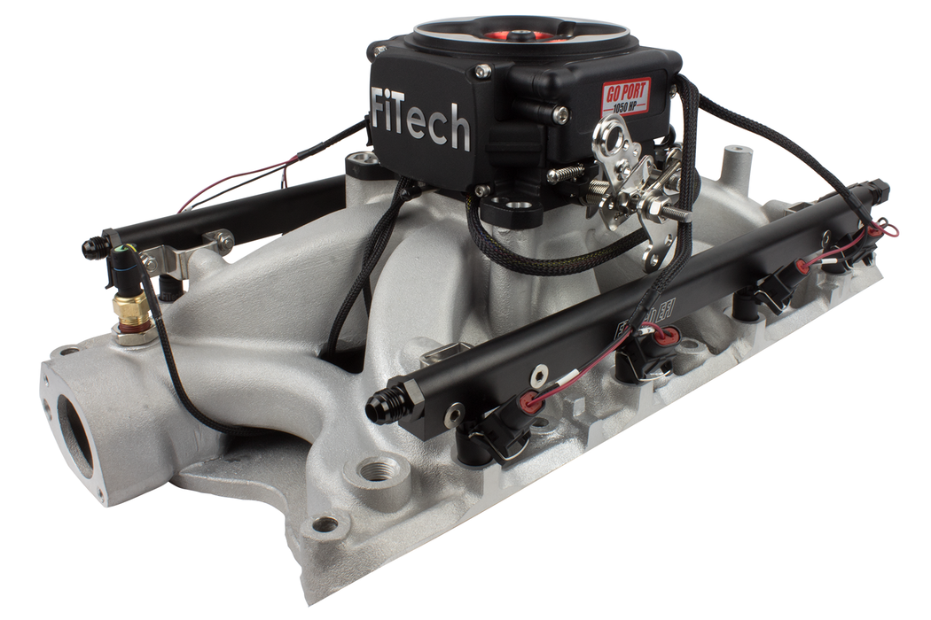 32454 - Go Port 351W 200-550 HP Matte Black TB - FiTech