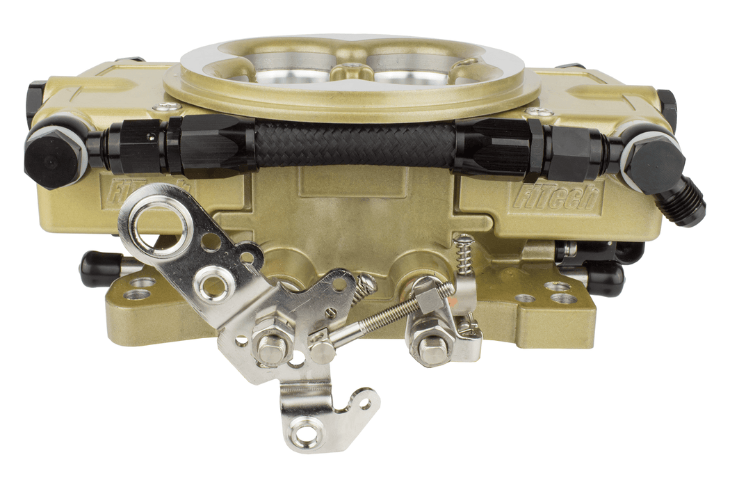 FiTech Retro LS Kit 600HP w/ Trans Control 4 Barrel Style Throttle Body (Carb Style) - 37001
