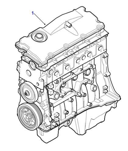 TD5 STRIP ENGINE FOR LAND ROVER DEFENDER AND DISCOVERY 2